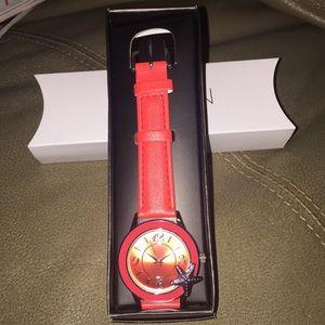 Red Seaside watch